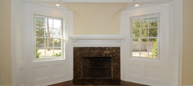 Fireplace & Windows